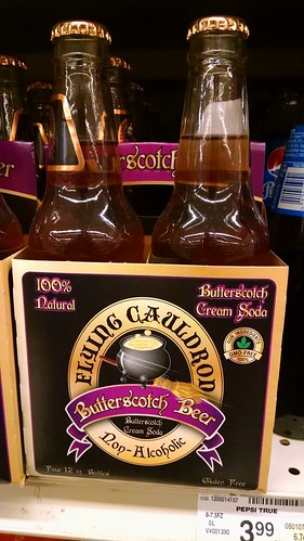 Real Life Butterbeer on Sale at Safeway