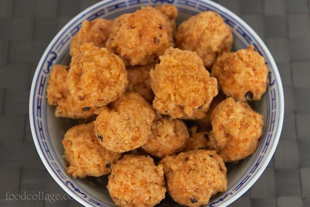 Chiu Chow Deep Fried Shrimp Balls