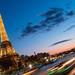 Sunset in Paris  Coucher de soleil à Paris