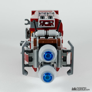 REVIEW LEGO Star Wars 75099 Rey's Speeder 16 - HelloBricks