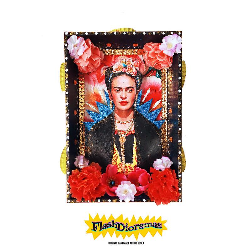 FlashDioramas Frida Kalho