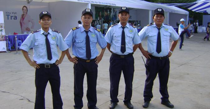 đồng phục bảo vệ cộc tay
