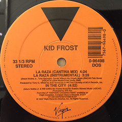 KID FROST:LA RAZA(LABEL SIDE-B)