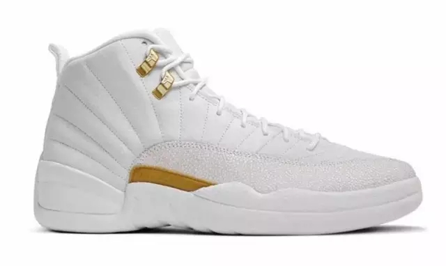 "Air Jordan 12""OVO"" White/Gold"