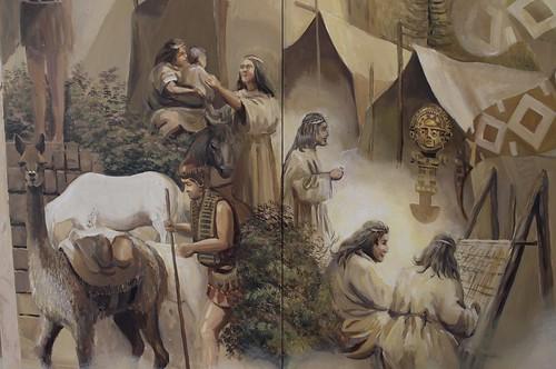 Mural Resplandor del Amanecer de Guillermo Valdivia