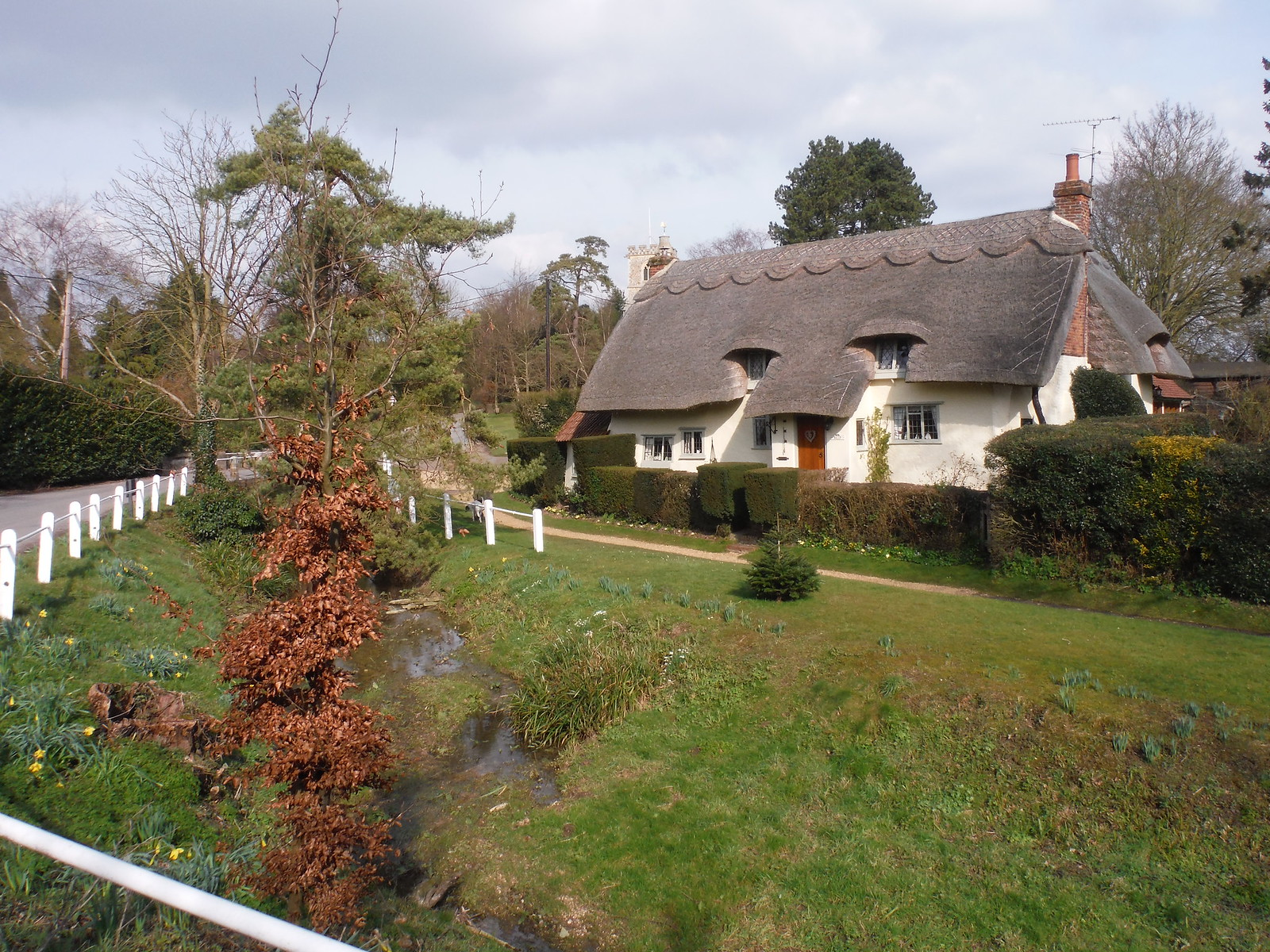 House in Arkesden SWC Walk 116 Wendens Ambo [Audley End station] Circular