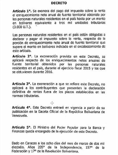 Decreto Islr