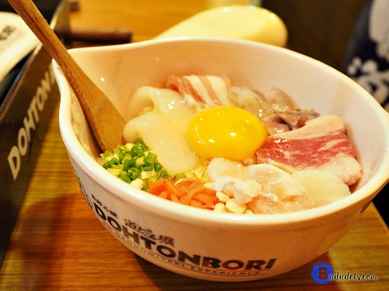 deluxe okonomiyaki dohtonbori