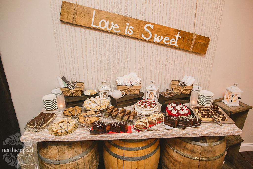 Love is Sweet Dessert Bar