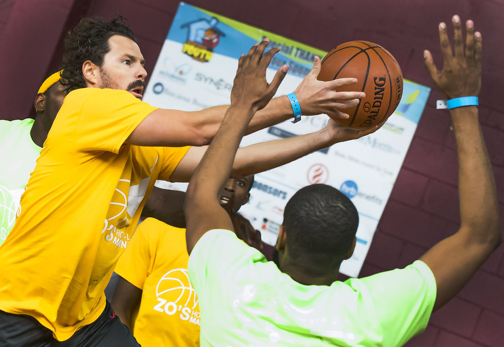 Zo's Hoop-Law Madness basketball tournament and fun day