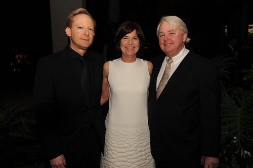 Jeff Krinsky, Debra Scholl, & Dennis Scholl at PAMM Art of the Party
