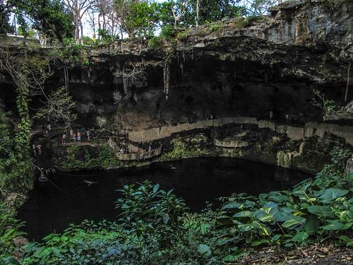 Valladolid: la cenote Zaci