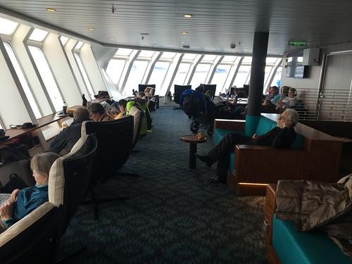 4 Mar - Inside Kong Harald - Observation lounge