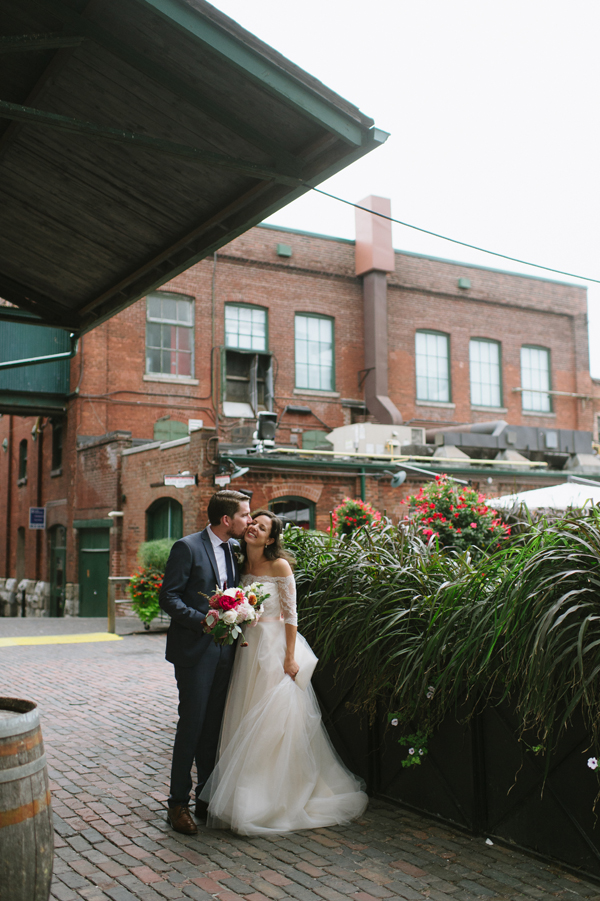 Celine Kim Photography AM Airship 37 distillery district romantic summer wedding-86