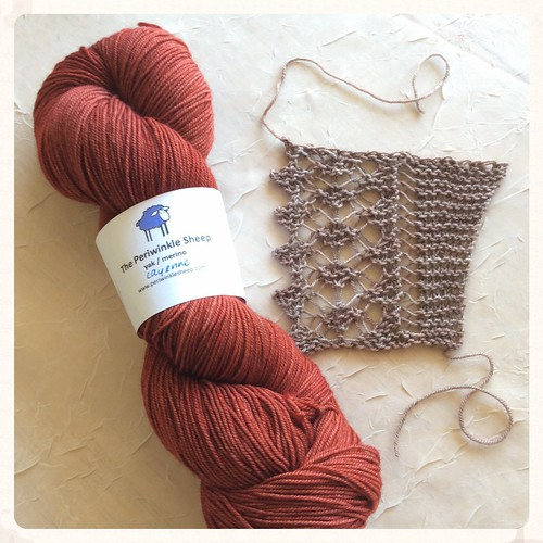 Swatch for a new Streusel sample