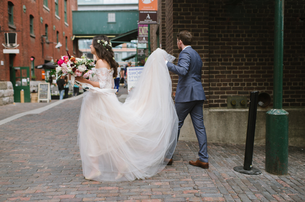 Celine Kim Photography AM Airship 37 distillery district romantic summer wedding-51