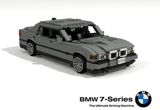BMW E38 750iL (Tomorrow Never Dies)