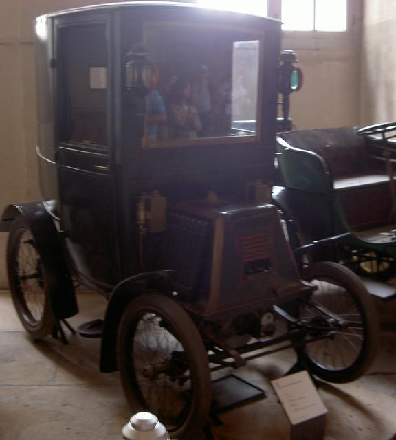 1900 Renault type C 1cil 3cv Coupé Brougham Conduite Intérieure nr 96