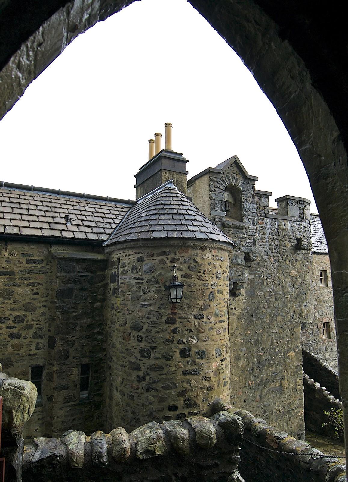 Eilean Donan Castle Bell Tower. Credit Bruce MacRae