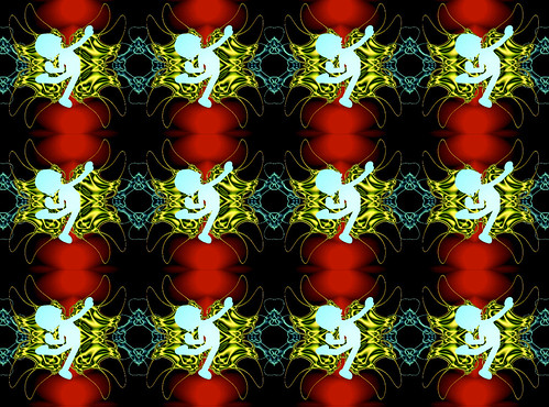 Stereo Tripper - 160307 ice (Link of description, jump to the stereogram GIF animation page)