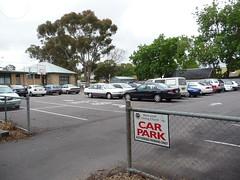 BUC Car Parking area
