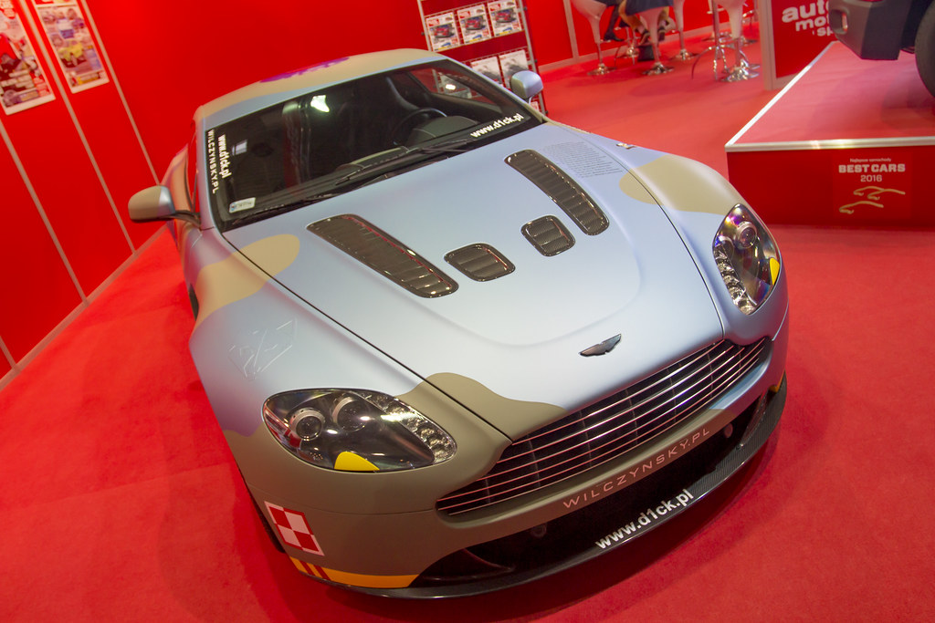 Aston Martin - Motor Show Poznan / Poland