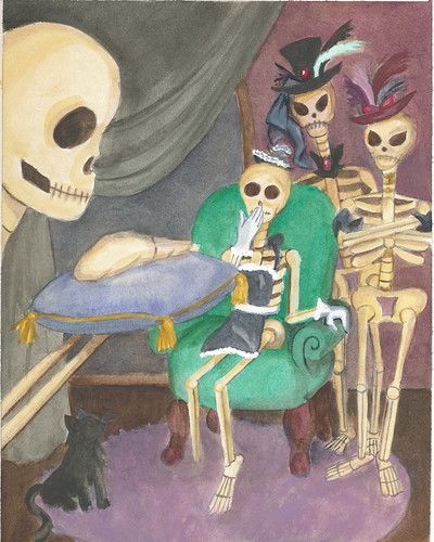 Skeletons Tell the Story of Cinderella