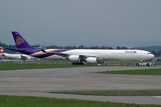 "Thai Airways International Airbus A340-642 HS-TNB  ""Saraburi"""