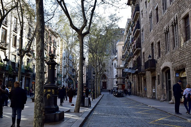 the beautiful Passeig del Born