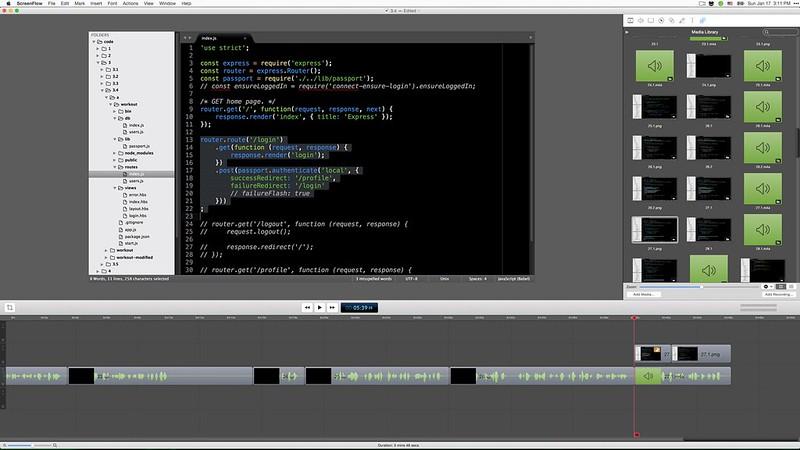 07 - editing videos