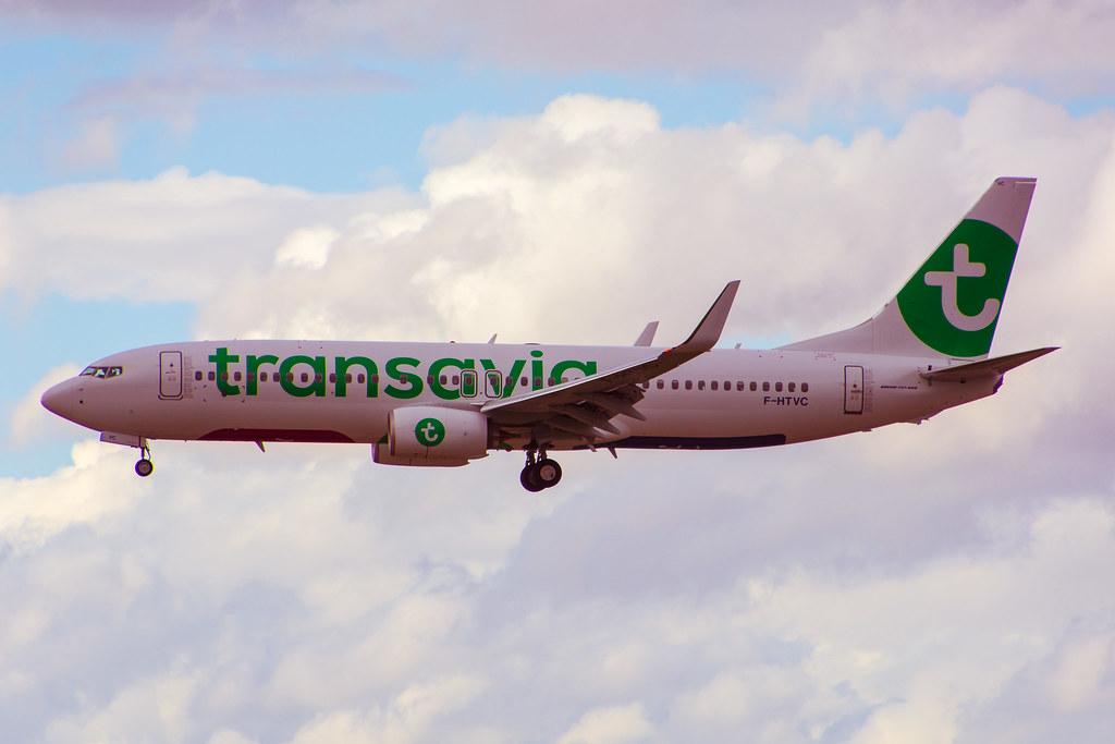 F-HTVC - B738 - Transavia France