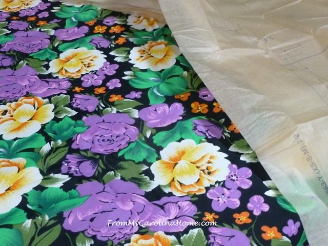 Sewing a Rayon Print Top |From My Carolina Home