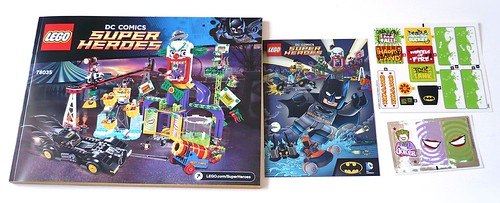 LEGO DC Superheroes 76035 Jokerland box 5
