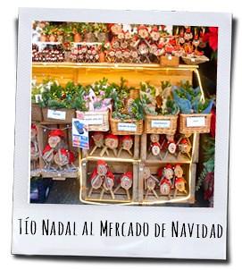 Tío Nadal is op vrijwel iedere kerstmarkt in Catalonië te koop