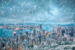 If Hong Kong is really going to snow.