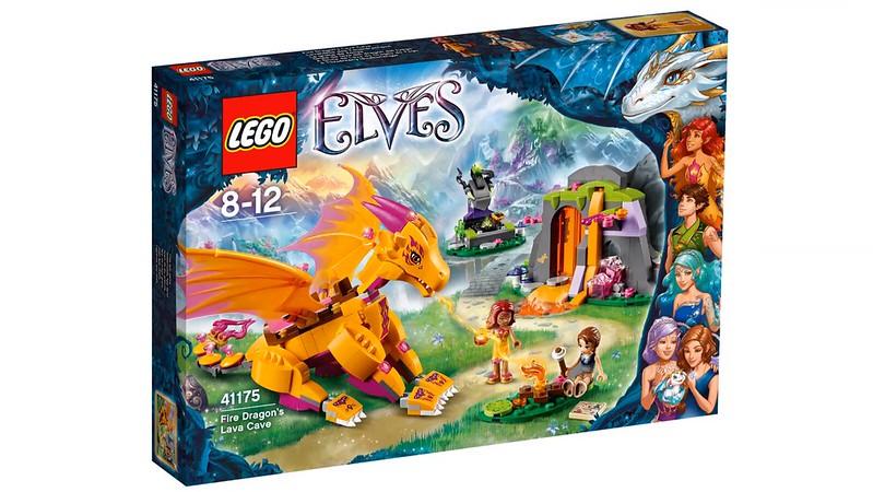 LEGO Elves 2016   41175 - Fire Dragon's Lava Cave
