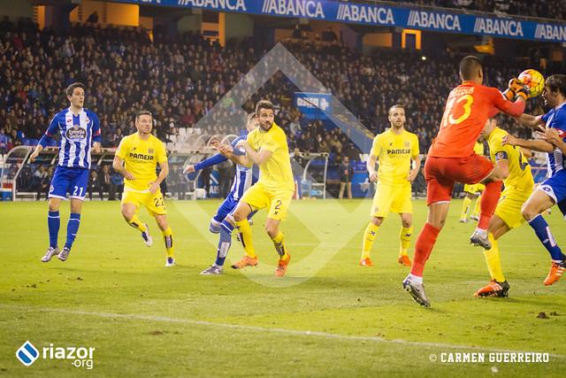 Liga BBVA. Deportivo 1 - Villarreal 2