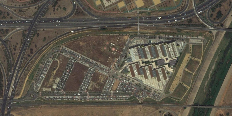 palmatraz, sevilla, abengooooar, después, urbanismo, planeamiento, urbano, desastre, urbanístico, construcción, rotondas, carretera