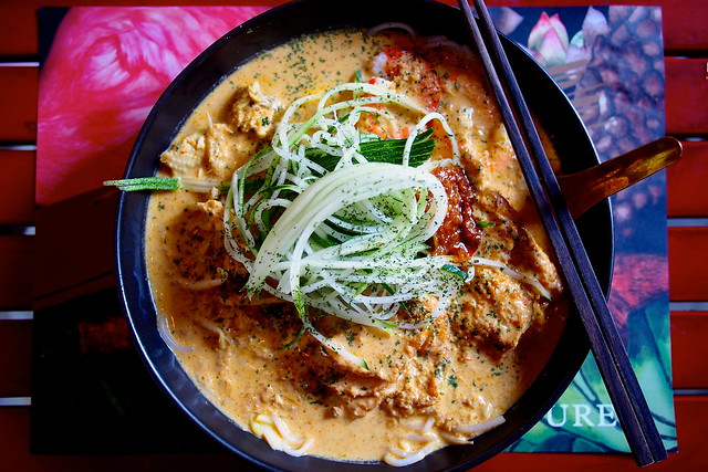 Laksa, CreatureS Cafe, Asian Fusion, Desker Road, Little India, Singapore
