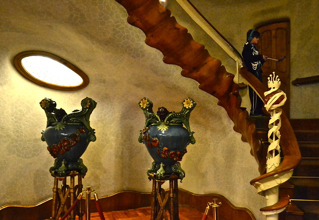 front lobby Antoni Gaudí - Casa Batllo