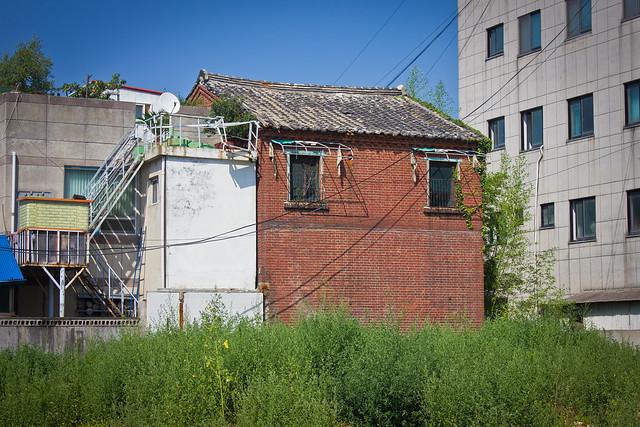 Colonial brick building, Gunsan, South Korea