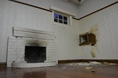 Wellington abandoned house