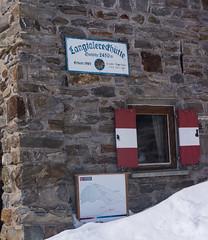 Schronisko Langtalerhütte 2450m