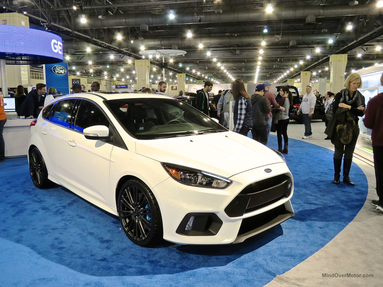 Philly Auto Show 2016 Ford Focus RS