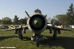 4242 - 6602 - Polish Air Force - Sukhoi SU-20R - Polish Aviation Musuem - Krakow, Poland - 151010 - Steven Gray - IMG_0350