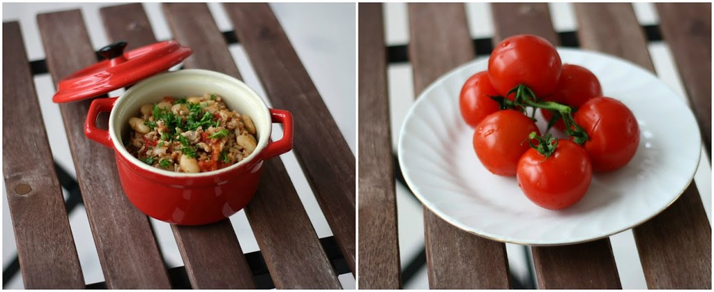 Lys chili con carne med hvide bønner og svinekød