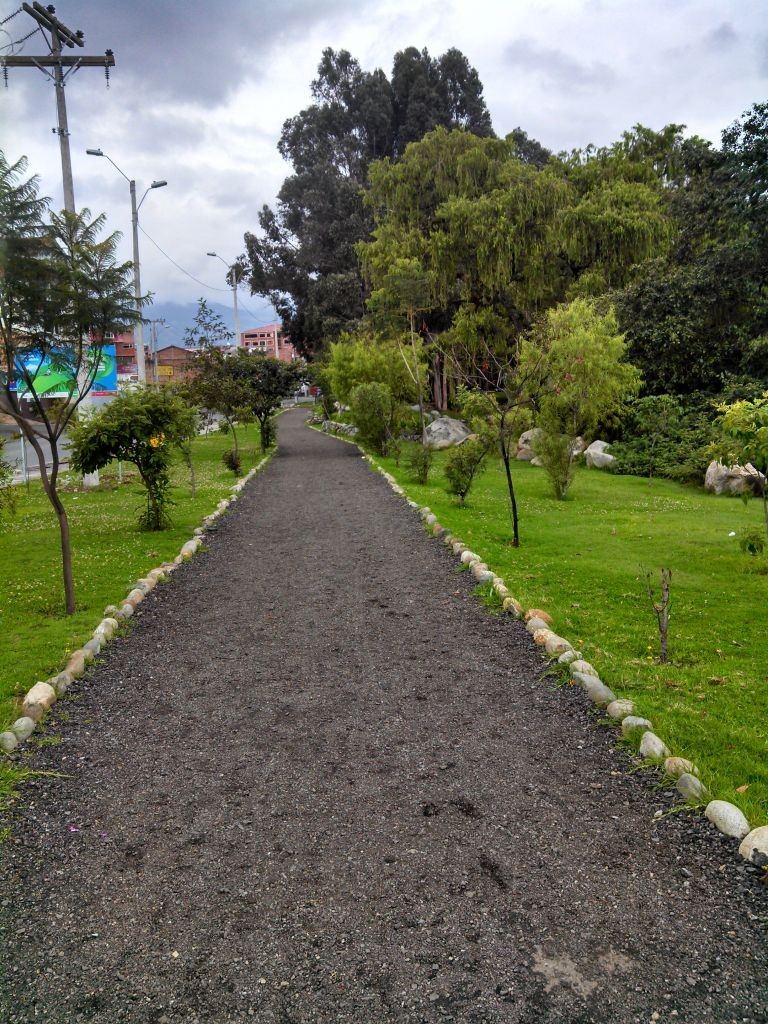 Wide Path In Cuenca