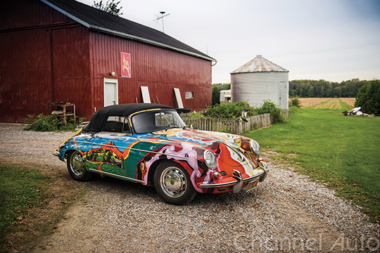1964 Porsche 356 C 1600 SC Cabriolet9