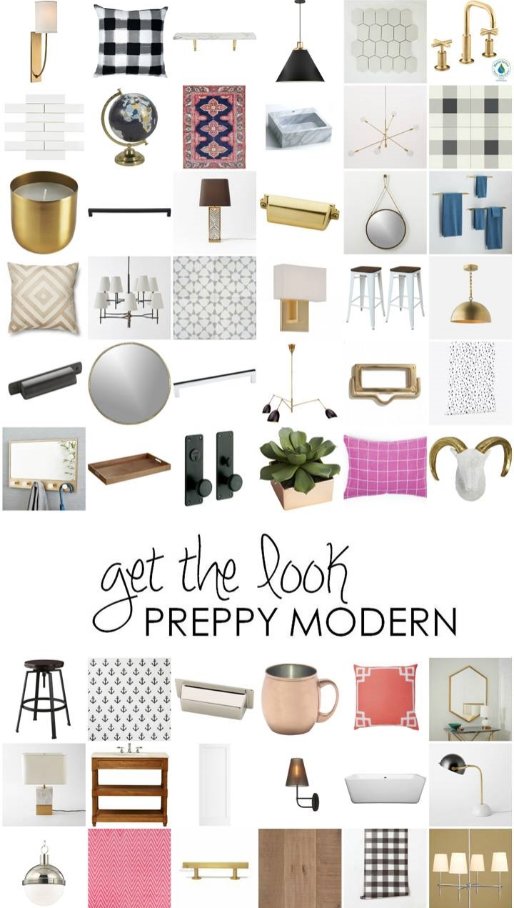 Get the Look - Preppy Modern collage