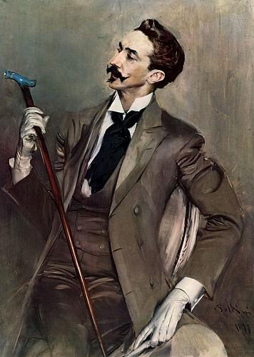 Boldini Ritratto del conte di Montesquiou